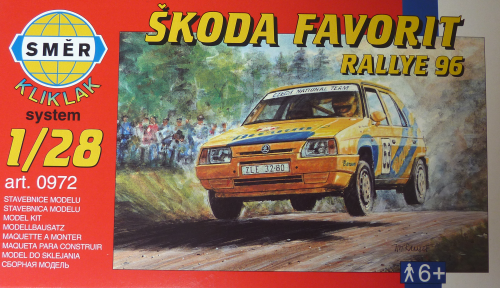 "SKODA Favorit ""Rallye 96"""