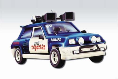 "RENAULT Maxi 5 Turbo ""Radio"""