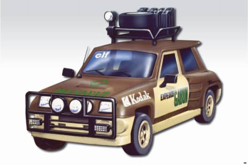 "RENAULT Maxi 5 Turbo ""Expedition"""
